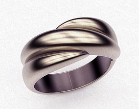 3D printable model Ring Trinity
