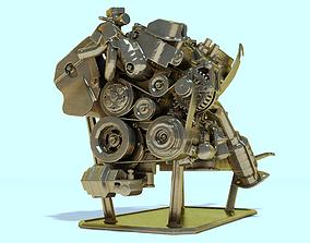 car Engine for 3Dprint