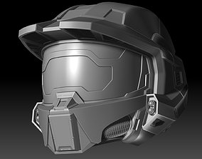 Master Chief Helmet Halo Infinite fanmade 3D printable 1