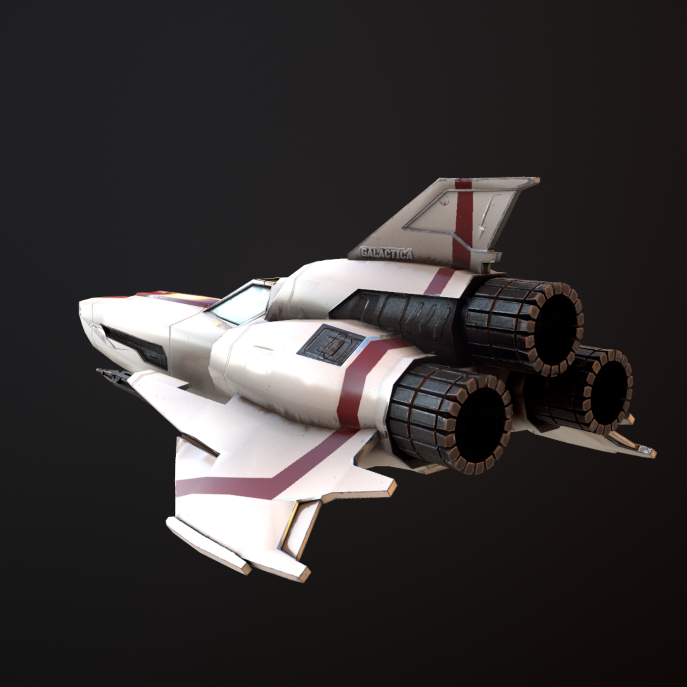 Battlestar Galactica Viper Mk II