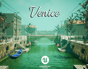 3D model Venice for Unreal Engine