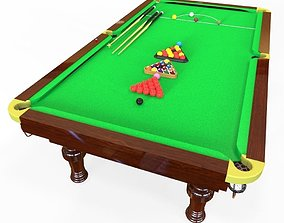 snooker table 3D model