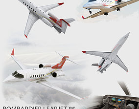 Bombardier Learjet 85 3D model