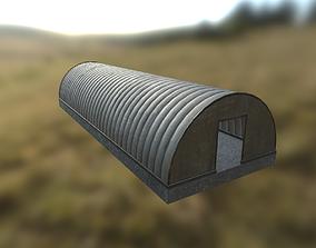 3D model Hangar game ready