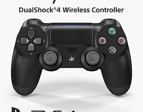 3D asset Sony Dualshock 4 Wireless Controller 2016