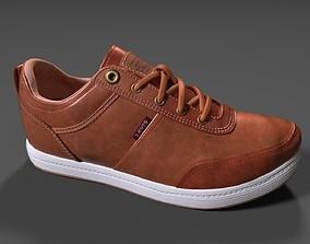 3D model Levis Mens Desoto Burnish Low-Top Sneakers
