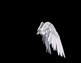 3D animated Angel Wings Rigged
