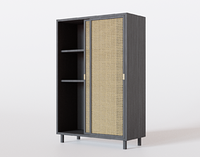 Wicker Storage big 3D model