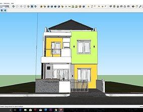 Minimalis house 3D