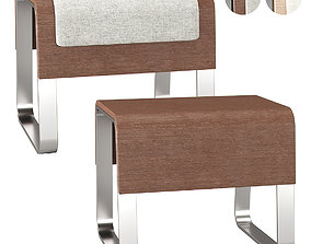 HBF Cheval benches 3D model