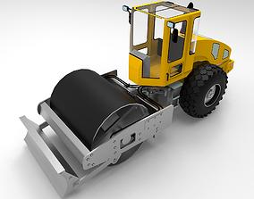 Roller Road Excavator I 3D