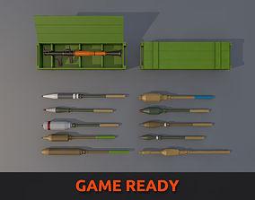 3D model Low Poly RPG-7