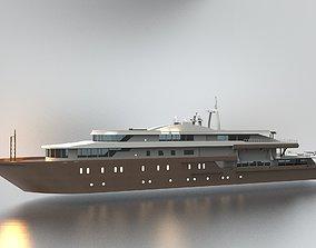 3D Yacht 40 Meters