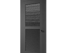 3D model door Metal Door