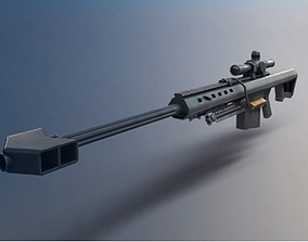 SNIPER infantry 3D model