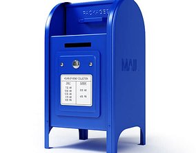 3D United States Post Office Box