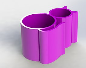 3D print model Cat Pen Holder Simple