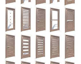 3D model Interior doors collection