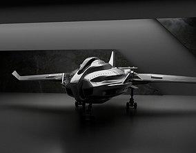 Galaxy HS-90 Spaceship 3D model