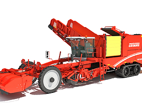 3D model Grimme Potato Harvester