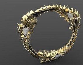The Elder Scroll Ring 3D print model