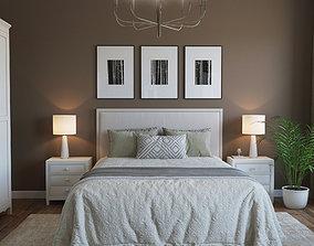Bedroom Interior Scene Vray -Corona 3D