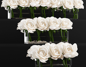 rose arrangements 3D