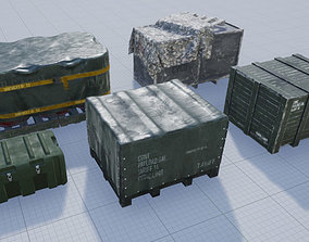 Military Containers Pack 3D asset
