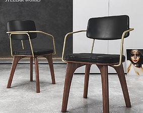 3D model Chair Utility Armchair U