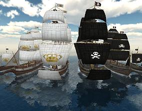 3D model Ship Pack