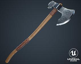 Viking Weapons - Large Axe II 3D model