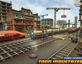 Toon Industries 3D model