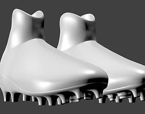 Modern football boots 3D