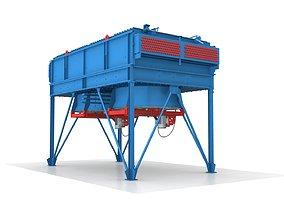 Industrial Air Cooler 3D model VR / AR ready