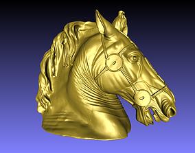 Horse Head 3D print model animal