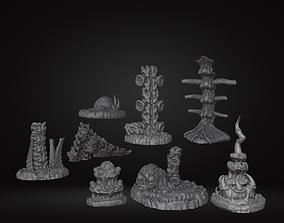 3D print model Biomass Environment Tabletop Games Scatter