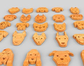 Sweet Dog Faces 3D printable model