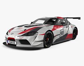 3D model Toyota Supra Racing 2018