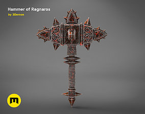 Hammer of Ragnaros - World of Warcraft 3D print model
