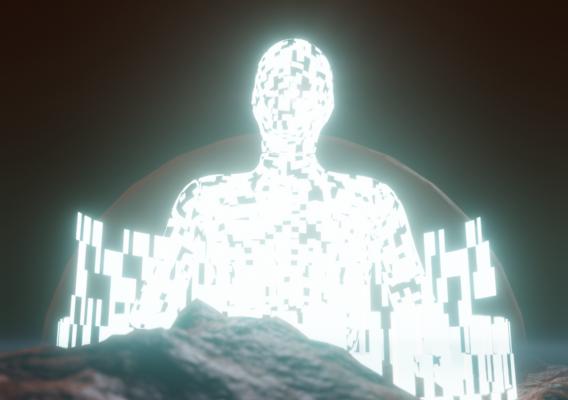 Sci-fi Alien Scene