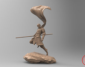 elements 3D print model warrior