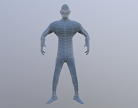 people 3D model Human