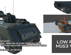 Low Poly M163 VADS 3D model