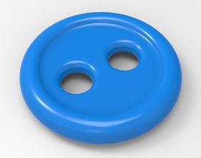 Plain Button 3D printable model