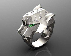 3D print model ring female earrings