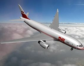 Boeing 787-8 DHL International 3D