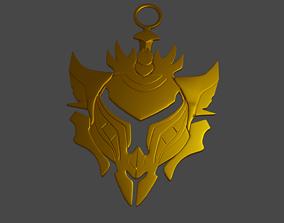 League of legends Gold Keyholder 3D print model