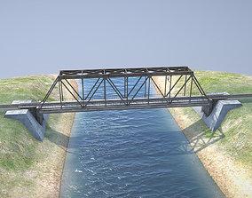 RW Bridge Vologda-II mono ferma 3D model