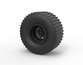 3D printable model Diecast Rear wheel from Dirt dragster