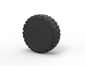 3D printable model Diecast Offroad wheel 4